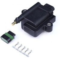 Haltech High Output IGN-1A Inductive Coil w/Built-In Ignitor (Incl Plug & Pins)